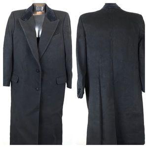 Burberrys' | Men's Black Overcoat